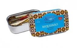 Biqueirão (anchovas) em azeite picante