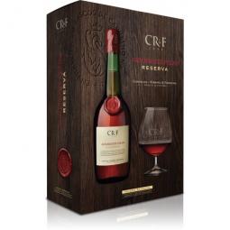 Brandy Aguardente Velha CRF Reserva + sklenice