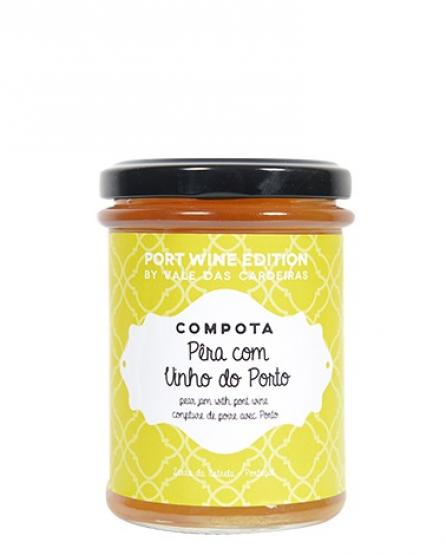 Hrušková marmeláda s portským vínem